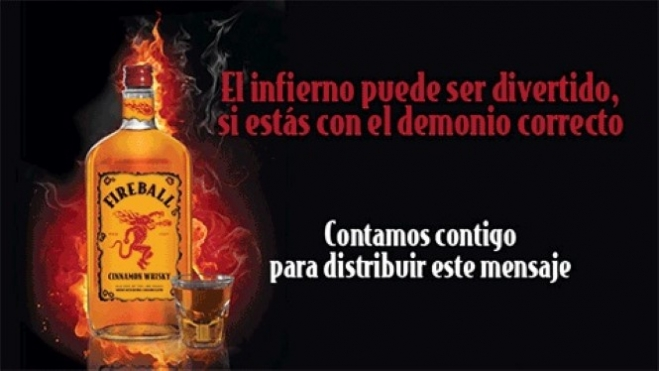 FIREBALL (Cinnamon Whisky)